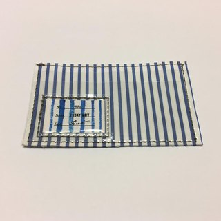 Sandwich card case -THOMAS MASON Stripe- ストライプ定期ケース