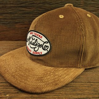 [METALIZE] Brown Corduroy Vintage Six Caps