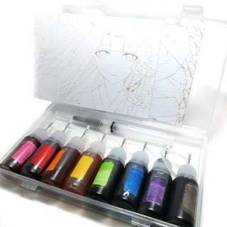 Handmade - Convenient Fine Needle - Ink Type Pearlescent Drawing Transparent Watercolor