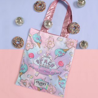 SPACE BABE TOTEBAG