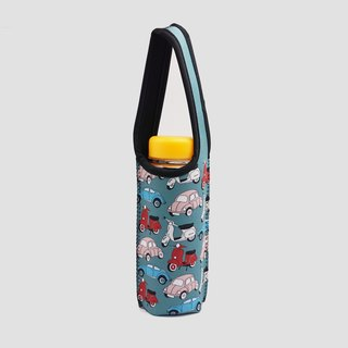 BLR Water Bottle Tote Ning [ Old Car ] TC57