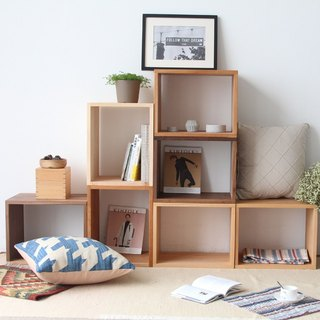 Lushan Studio - free mix combination solid wood bookcase