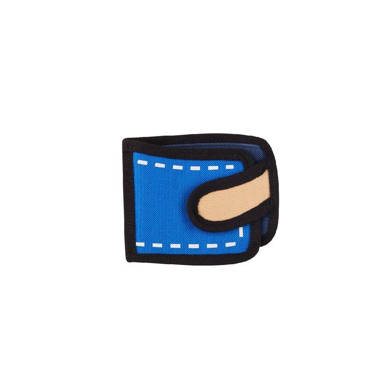 JumpFromPaper 2D包 真藍色日常短夾 錢包