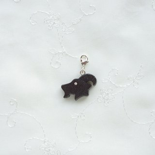 Sheep wooden charm