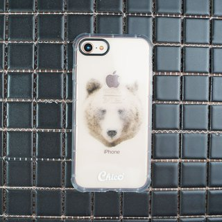 Black eye cushion air cushion anti-fall mobile phone shell [dot bear]