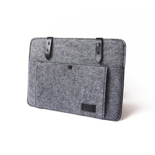 Felt Laptop Sleeve 13, 15 Inch (Laptop Sleeve, Case, Notebook Bag, Macbook, PC)
