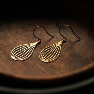 Gold Earrings Seed Earrings (Gold)