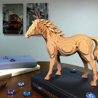 Contamo Handmade Model Wildlife Series - Horse