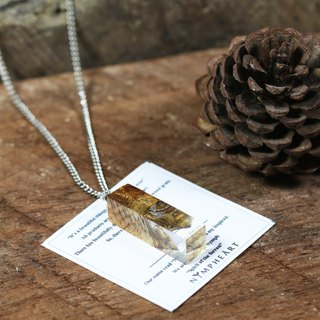 *In stock* Wonder burl wood - NYMPH'S necklace