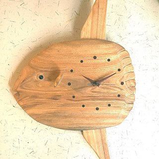 Sunfish hanging clock
