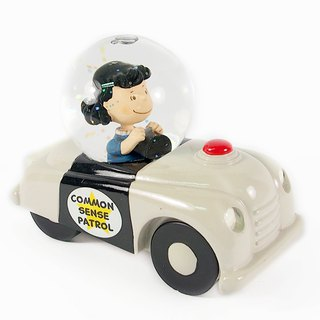 Snoopy Hand Sculpture / Water Polo - Lucy Car [Hallmark-Peanuts Snoopy Sculpture]