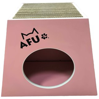 [AFU] ultra-durable pink grabbing wooden house