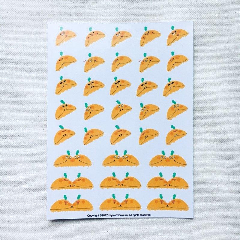 -小橘子亂入生活 III-手帳貼紙