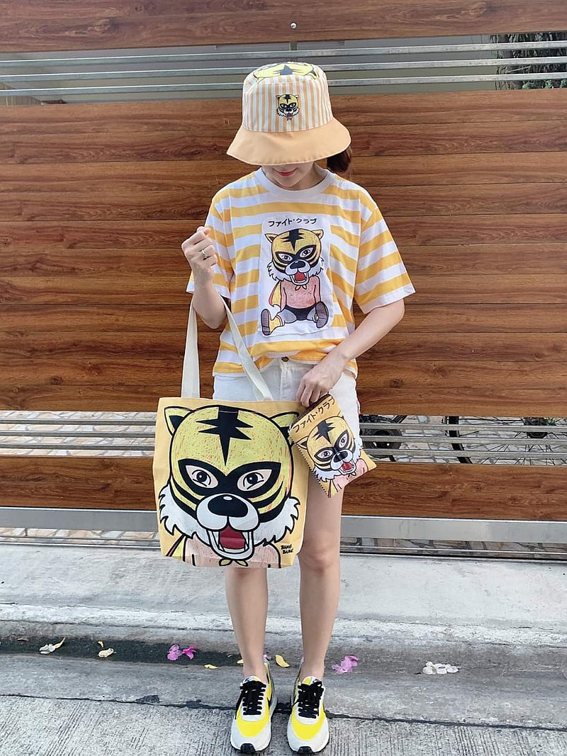 Tiger Mask Totebag