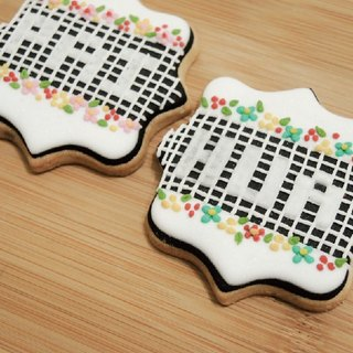 [Wedding of small objects] mosaic tiles into sugar cookie 10