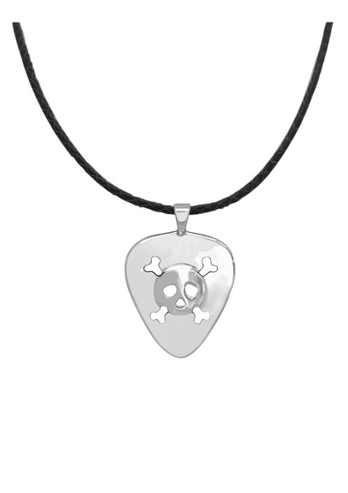 WING Jewelry | ROCK Series - Skull Necklace l 8AA00588