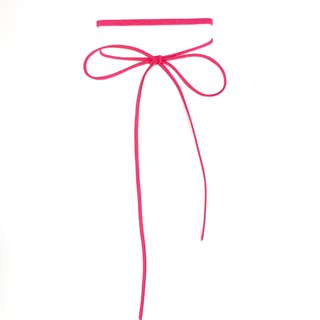 Classic rope necklace - pink
