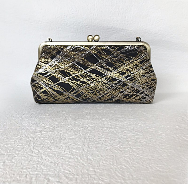 Abstract pattern handbag A