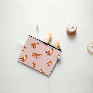 Small day tarpaulin cosmetic bag M-11 fox, E2D10232