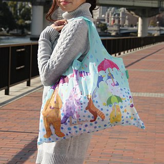 Japanese Prairie Dog Design Bag - Rain