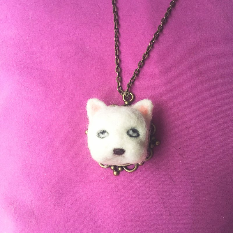 Inedible World Animal Necklace - Fawn French Bulldog Fighting Necklace World of Weary