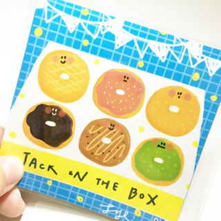Jack in the box Fun Donut Cutter Sticker