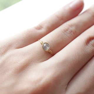 3.5mm elongated stone ring (can do the ring) gold