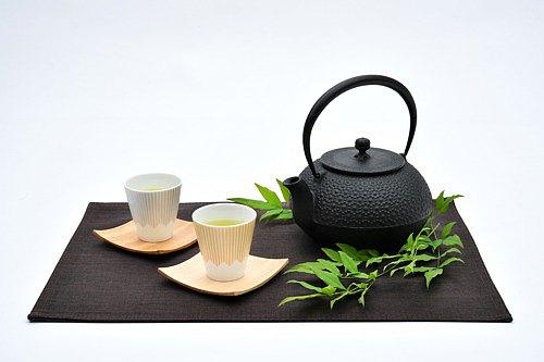 富士山圖案茶杯 (H) 銀