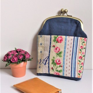 Chalk Bag (Blue Country Floral)