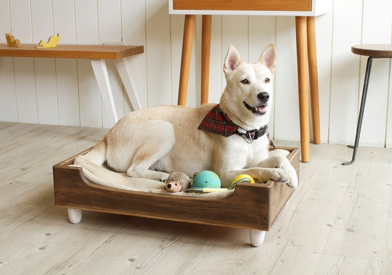 Log Pet Bed - Suitable for Small and Medium-sized Dogs/Cats