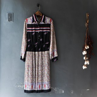 River Water - Shimane Youth Love Dating Dream Garden antique one-piece silk skirt dress overalls oversize vintage dress