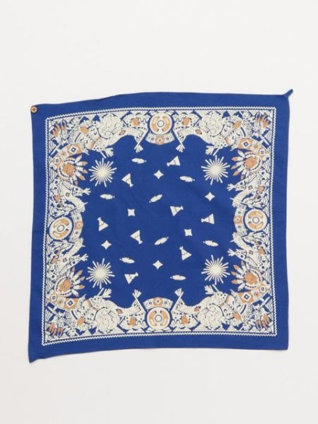 【Pre-order】 ave Indian tents square / handkerchief ✱ (three) ISAP7388