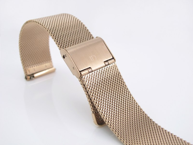 Plus purchase goods - quick release metal Milan mesh belt