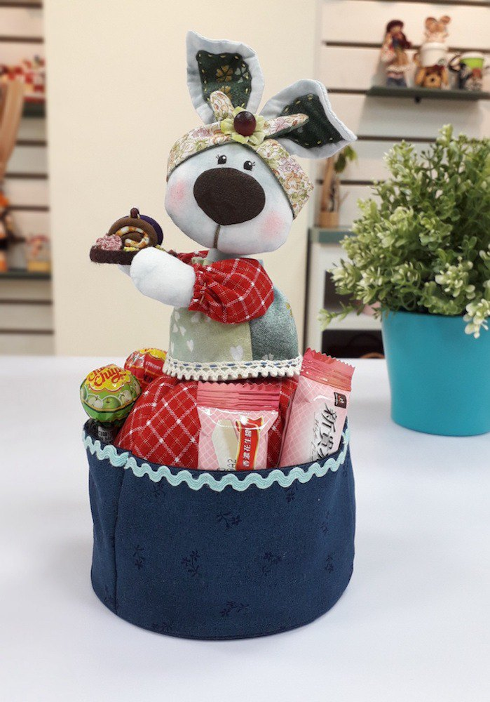 Dessert rabbit table storage bag