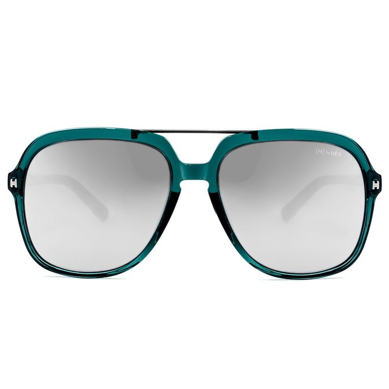 Sunglasses | Sunglasses | Classic Green Pilot Frame | Made in Taiwan | Framed Glasses