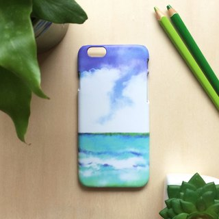 Sky and sea. Matte Case( iPhone, HTC, Samsung, Sony, LG, OPPO)