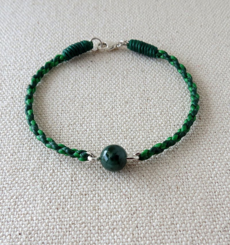 [Lucky Stone] Huaqing Jade Silk Wax Line Bracelet [Four Shares] ** Lucky, Anti-Small, Evil