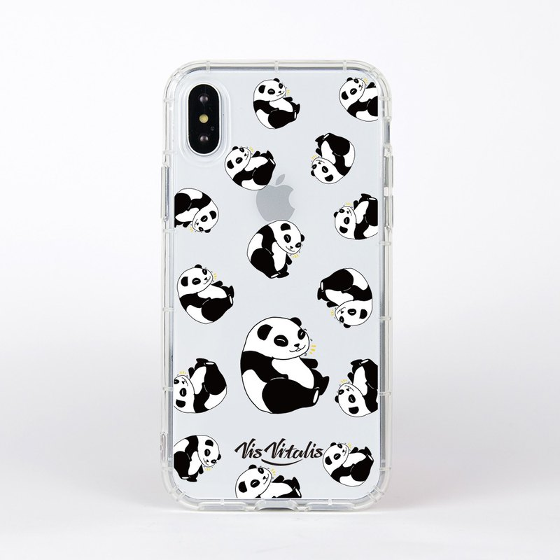 Panda thing / soft shell transparent air shell / mobile phone shell