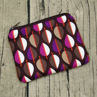 Zipper pouch / coin purse (padded) (ZS-244)