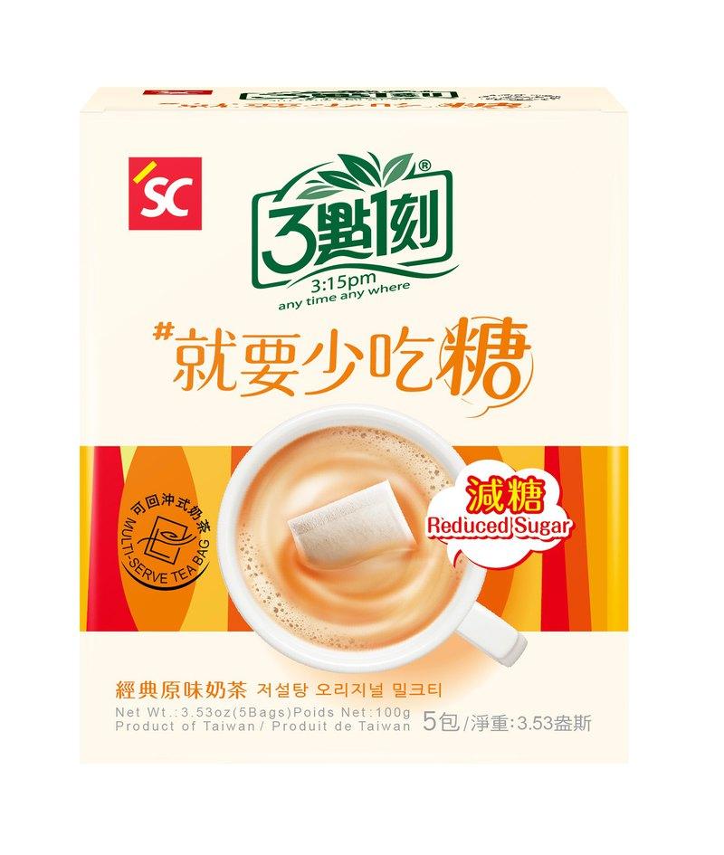 【3點1刻】減糖原味奶茶 5入/盒