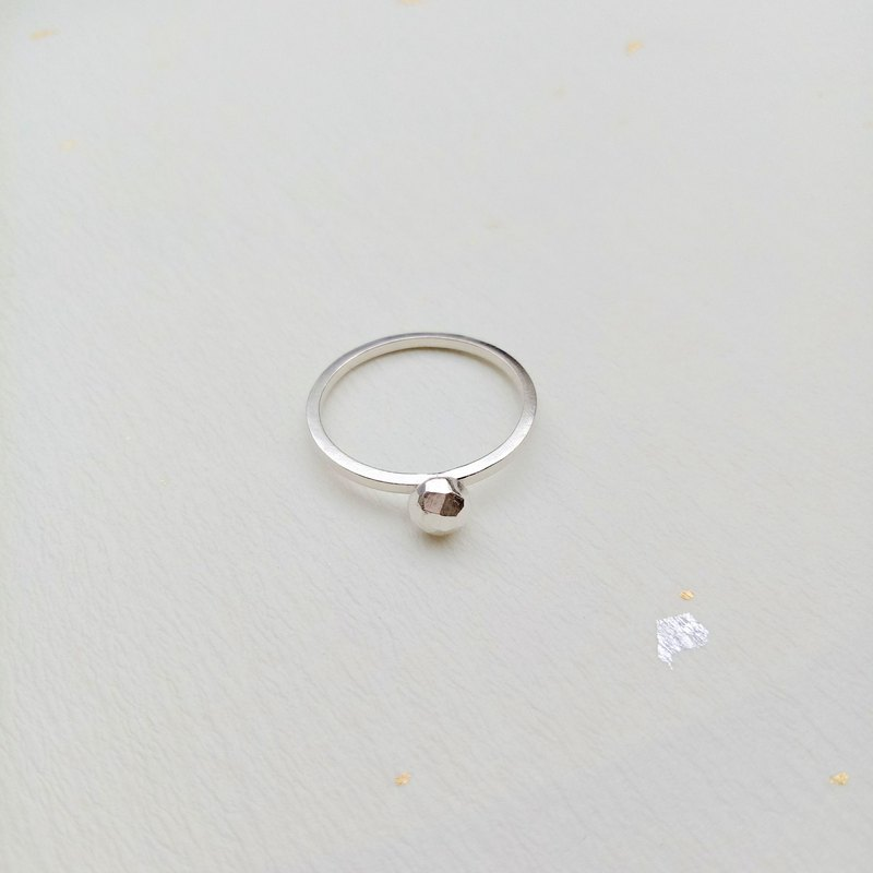 【Hongsheng Ornaments】 Handmade Prism Ring 925 Sterling Silver