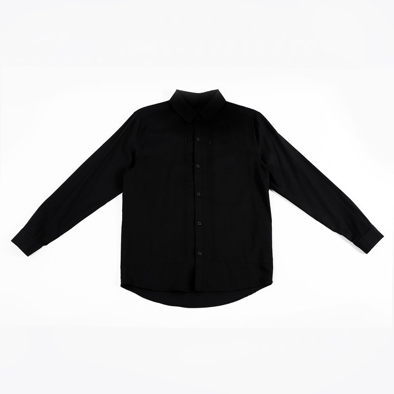 Triune Over Shirt - Black