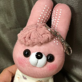 Xiao Meng rabbit 04 socks doll strap / current product / Martin hand-made