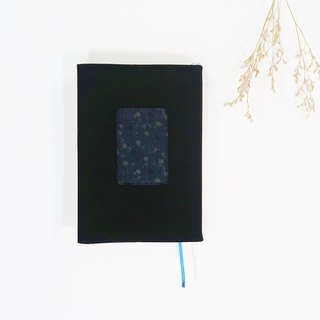 Night Flowers A5/25K bookcloth