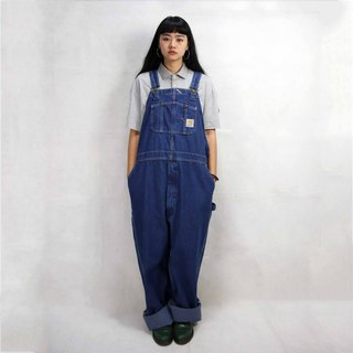 Tsubasa.Y Antique House Carhartt Brand Denim Suspenders 006, Denim Suspenders