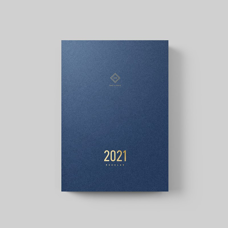 【Pre-order】Take a Note 2021 Planner A5 Exclusive in English version