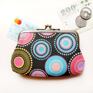 Liou smoky mouth gold buns mother bag / coin purse [made in Taiwan]