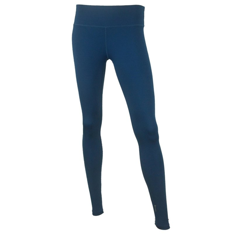athlesilk - Hi Tech Elastane Moisturize Legging (Thin version) -Peacock Blue