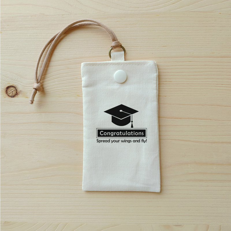 Graduation blessing simple card bag