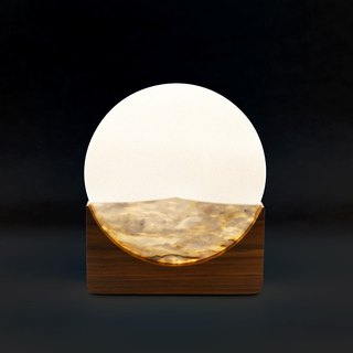 Translucent stone painting light